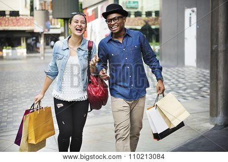 Shopping Commerce Consumer Customer Expressive Concept