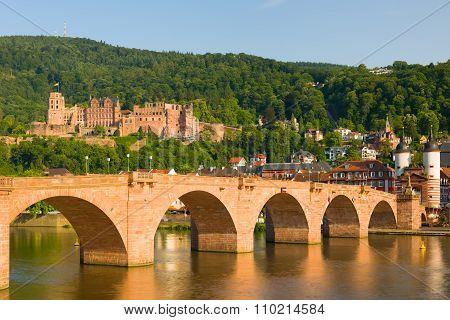 Heidelberg In A Summer Evening