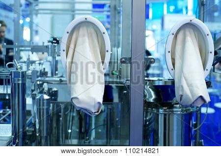 Sterile plant for the production of medicines