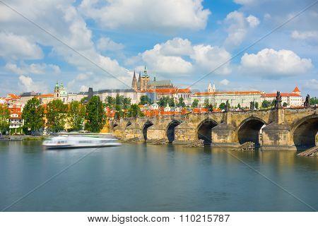 Prague In A Summer Day