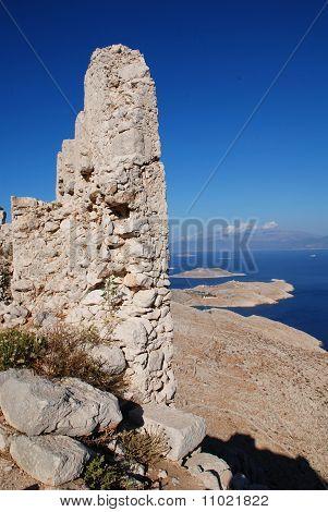 Crusader knights castle, Halki