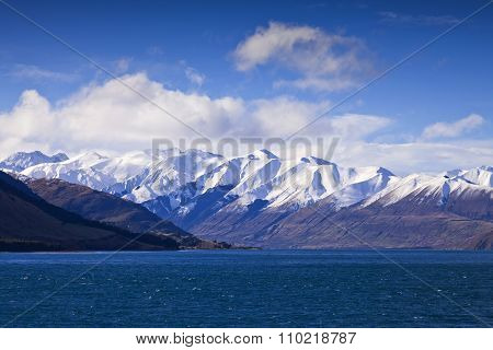 South Island Landscape, New Zealand