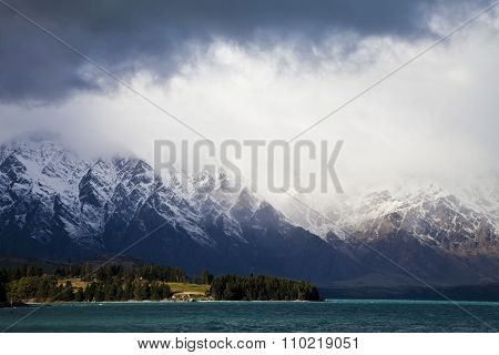 The Remarkables Mountain Range, New Zealand