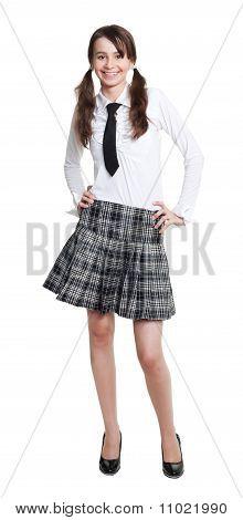 Teen Schoolgirl