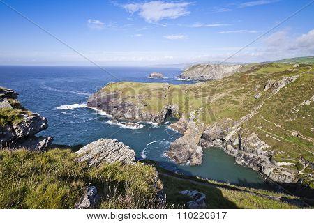Tintagel Coast, Cornwall
