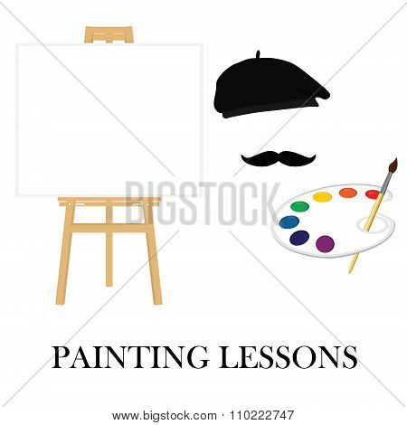 Painting School Concept