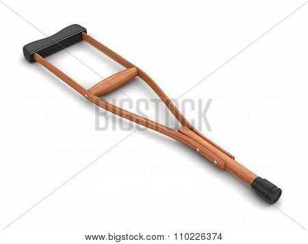 Crutch (clipping path included)