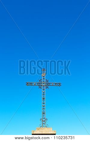 Catholic     Abstract  Cross In Italy  Background