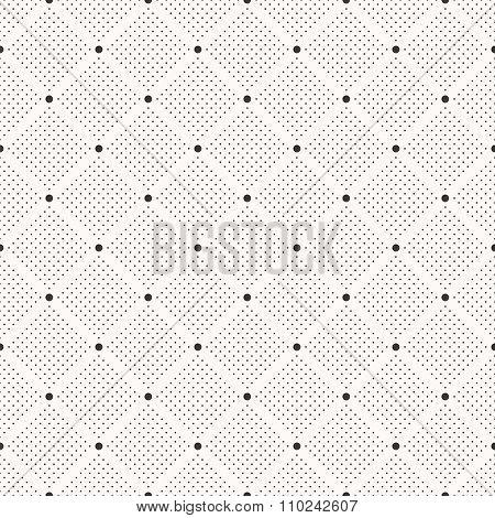Seamless dots pattern. Polka dot print