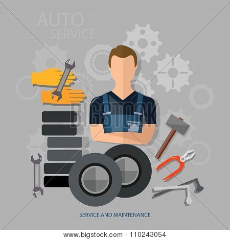 Auto Service Auto Repair Auto Mechanic Tire Service