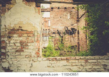 Abandoned House Retro