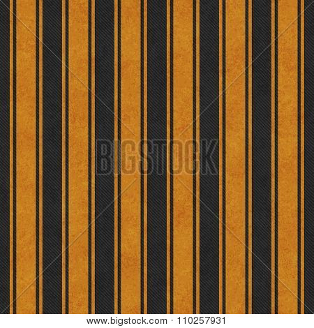 Orange And Black Striped Tile Pattern Repeat Background