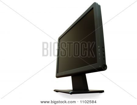 Point Of View - Modern Wide Lcd Monitor Isolated