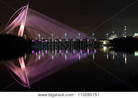 The Seri Wawasan Bridge Putrajaya Malaysia