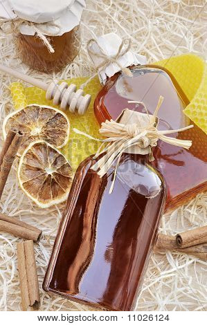 Natural products made of honey