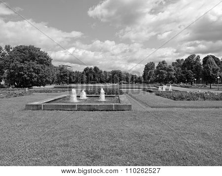 Gardens In Stuttgart, Germany