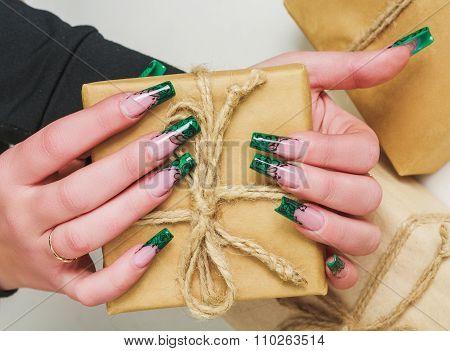 Luxury Festive Nail Art