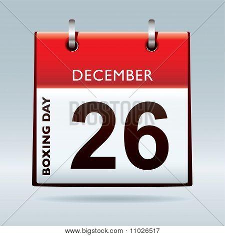 Boxing Day Calendar