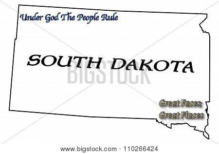South Dakota State Motto And Slogan