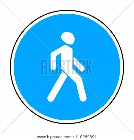 Walking Path Sign