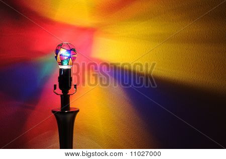 Rainbow Party Lightbulb