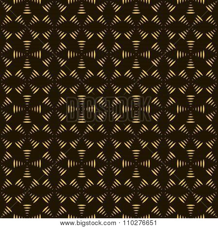 Seamless Pattern Of Geometric Shapes Forming Propellers