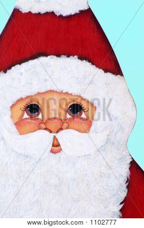 Christmas Santa Face