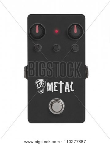 Guitar Effect Pedal - Stomp box -  Heavy Metal
