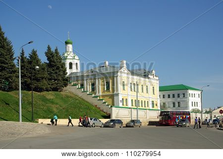 Kazan, Republic Tatarstan, Russia - May, 2014:  St. John The Baptist Orthodox Monastery In Kazan