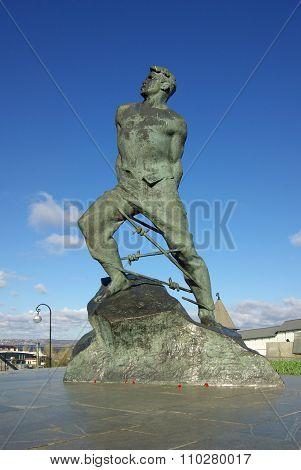 Monument Musa Jalil In Kazan