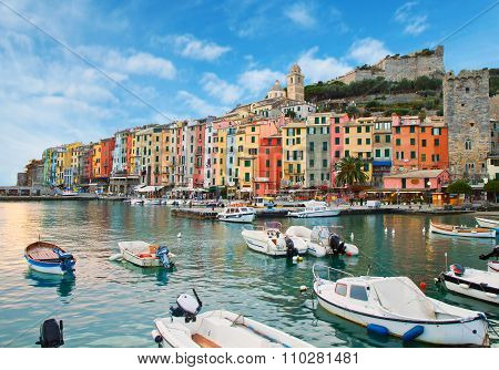 Beautiful Portovenere - Ligurian Coast Of Italy