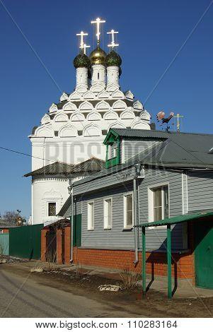 The Nikola Posad Church Of The Resurrection In Kolomna, Moscow Region