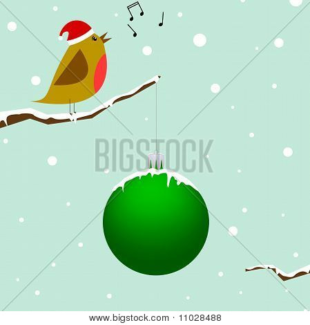 Singing Christmas Bird
