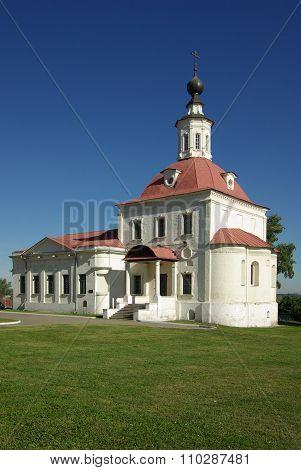 Kolomna, Russia - Jule, 2014: Temple Of The Resurrection In Kolomna