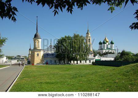 Kolomna, Russia - Jule, 2014: Great Monasteries Of Russia. Novo-golutvin Holy Trinity
