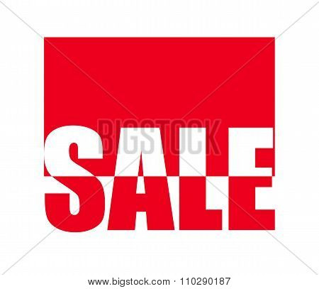 Sale Sign Vector Illustration