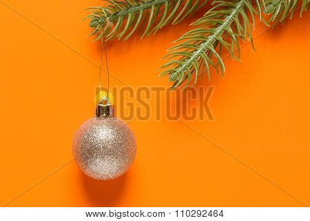 Toys And Spruce Branches