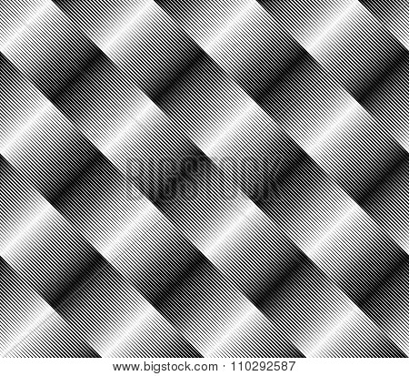 Abstract, Monochromatic Seamlessly Repeatable Pattern / Background. Vector Art.