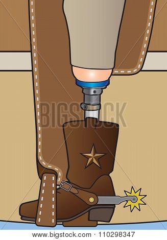Amputee Cowboy