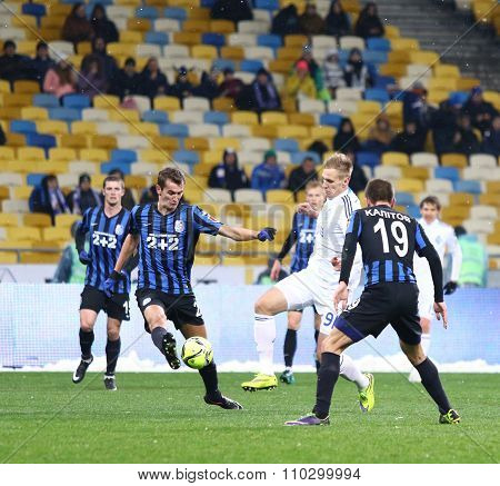 Ukrainian Premier League Football Game Fc Dynamo Kyiv Vs Fc Chornomorets Odesa