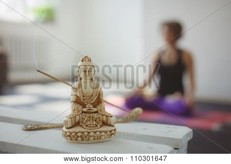 Yoga meditation and relax