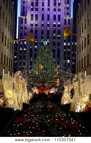 Christmas in new york - Rockefeller Center Christmas Tree