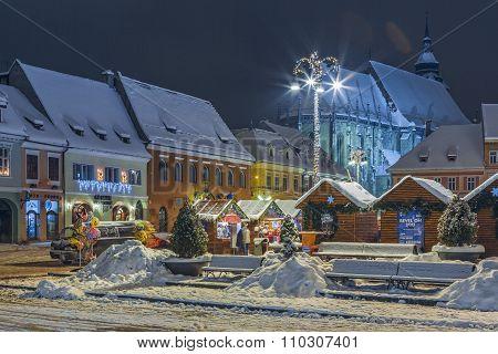 Christmas Fair, Brasov, Romania