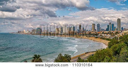 Tel Aviv, riviera panorama