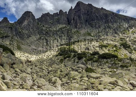 Amazing Landscape of Dzhangal Peak, Pirin Mountain