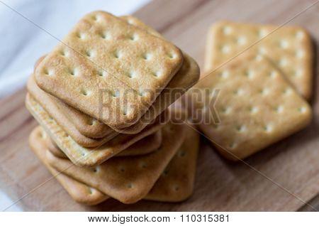 Stack Of Cookies Cracker