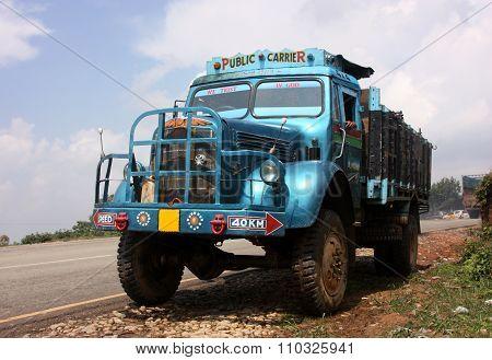 Vintage Indian Truck