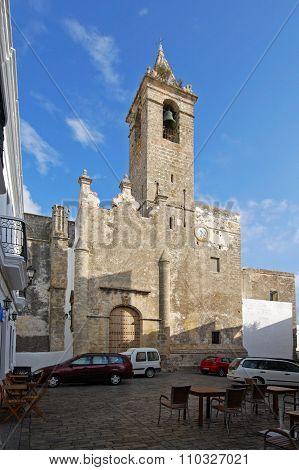 Vejer de la Frontera church.