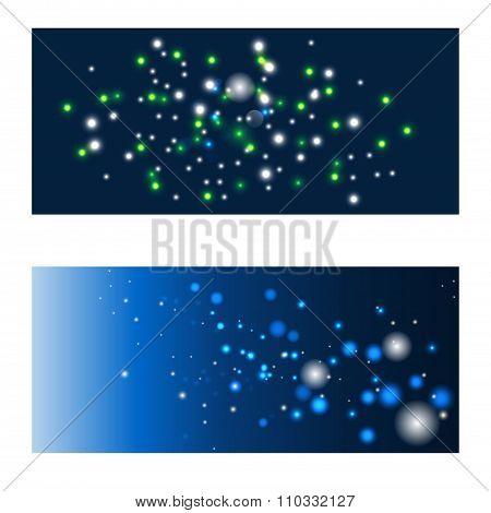 Blue Shining Backgrounds