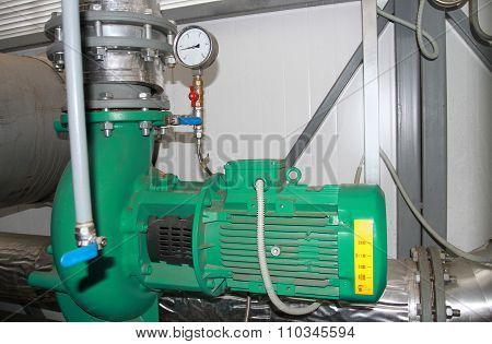 Three powerful pumps